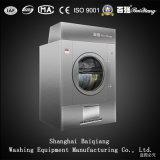 Essiccatore industriale completamente automatico della lavanderia del riscaldamento di vapore 25kg (materiale dello spruzzo)