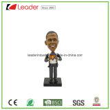 Figurine Polyresin покрашенный вручную подгонянный Bobblehead для домашнего украшения
