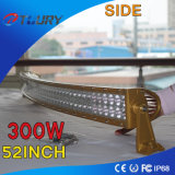 Auto luz do carro a maioria de barra clara estável de condução do diodo emissor de luz do CREE 300W 52inch