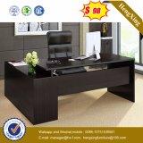 Bureau moderne de mélamine de L-Forme de meubles de bureau (HX-6M419)