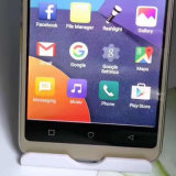 Telefone de envio livre do clone do telefone de pilha da mostra 32GB da ROM 4GB do RAM 1GB de Smartphone do núcleo da polegada Mtk6580 Octa do telefone 5.7 de Goophone G6