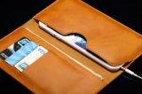 Роскошный случай телефона Flip бумажника Leahter
