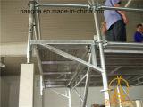중국 HDG 건축재료 강철 Ringlock 비계 시스템