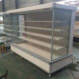 Refrigerador vegetal de la visualización de Multideck para el supermercado