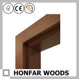 Frame de porta de madeira da noz moderna do estilo para a decoração interior