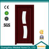 Porte pliante en PVC MDF avec style de panneau (WDHH60)