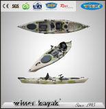 Pesca Kayak de plástico del barco con la pesca Pod Sin kayak inflable
