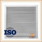 Ventilatie van het Blind van de Luifel van het Traliewerk van de Lucht van de Terugkeer van het Plafond van de Luchtleiding de Lineaire