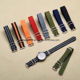 band van het Horloge van de NAVO van 20mm 22mm 24mm de Nylon voor Riem Van uitstekende kwaliteit van het Horloge van het Embleem van de Horloges van de Vrouwen van Mannen de Riem Gegraveerde