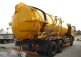 [6إكس4] فراغ مجرور [16000ل] فراغ ماء صرف مصّ شاحنة