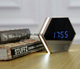 Miroir Table LED Sign Display Promotion Cadeau Horloge murale