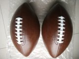 Machine de PVC 6# piquant le football américain de Brown