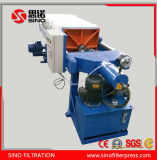 Tipo hidráulico equipo ahuecado automático de la prensa de filtro del compartimiento