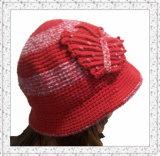 縁(1-3405)が付いているFashion Crochet Weave Beanie女性帽子