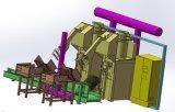 タイルの接着剤のためのフルオートの包装機械