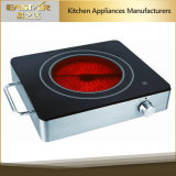 Ce Aprobación de RoHS Cocina de infrarrojos Es-J100 Estufa de cerámica