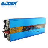 Inversor Photovoltaic híbrido de alta freqüência novo 24V 1000W do UPS do inversor de Suoer 2016 com o controlador solar de MPPT (SON-SUW1500VA)