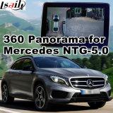 Ntg-5.0 Audio20コマンドシステムLvds RGBシグナル入力鋳造物スクリーンが付いているベンツのための背面図及び360パノラマインターフェイス