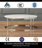 Hzct157 지능적인 둥근 대리석 최고 커피용 탁자