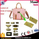 لوحة اسم/معدن بطاقة/معدن علامة تجاريّة/حقيبة علامة مميّزة/حذاء بطاقة/نوع ذهب لوحة اسم