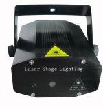 Mini projetor de iluminação do estágio do laser para o Natal 4 em 1 efeito com de controle remoto