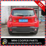 De auto Bijkomende ABS Materiële Rode Dekking van de Lamp van de Stijl Achter voor het Model van de Apostaat (2PCS/SET)