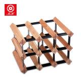 Cremagliera tradizionale del metallo di vendite calde per la mobilia di legno di memoria del vino