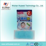 Soulagement de la douleur Hydrogel Fever Reducing Cooling Gel Pad for Baby