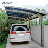 Het moderne Polycarbonaat Carport van het Aluminium van het Zonnescherm