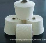 100% ha pettinato il filo di cotone per il Ne tessuto 32s/2 di uso