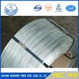 亜鉛はガイワイヤー滞在ワイヤーGswケーブルの熱いすくいの電流を通された鋼線に塗った