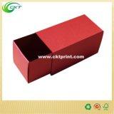 Сползите коробку открытого картона Slipcase бумажного упаковывая (CKT-CB-80)