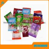 Таможня напечатала пластичным мешок еды застежки -молнии упаковки еды загерметизированный мешком/прокатанный мешок таможни еды