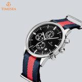 Reloj de Mens encantador de la manera del deporte del cronógrafo de lujo del reloj con el nilón Band72683
