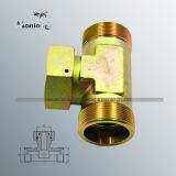 NPT de Mannetje Gesmede Adapter van de Slang van het Koolstofstaal Hydraulische (BC52)