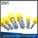 Couteau de fraise en bout d'acier de tungstène d'Edvt 50 HRC