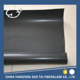 高品質の単一の側面のシリコーンの上塗を施してあるガラス繊維ファブリック(布)