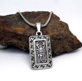 Ювелирные изделия способа нержавеющей стали 316L панковского квадратного ожерелья людей привесные