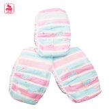 El algodón barato 100% del precio PP respirables echó a un lado cinta para el pañal del bebé