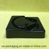 De Hoofdtelefoon die van uitstekende kwaliteit het Dienblad van de Blaar PP/PVC in Zwarte gebruiken