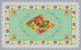 Tablecloth impresso transparente material do PVC do projeto independente novo de LFGB 80*130cm