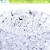 Оптовая красивейшая высокая ясная вода вазы отбортовывает кристаллический почву для почвы геля завода био