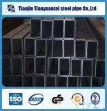 tubo de acero negro rectangular cuadrado de 38X38m m ERW