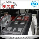 Placa del espacio en blanco del carburo de tungsteno K10 con diversas dimensiones de una variable en semi trabajar a máquina