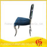 高品質のビロードが付いている椅子を食事するステンレス鋼