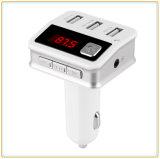 3 USB 차 충전기 (BC12)를 가진 Bluetooth 최신 판매 핸즈프리 FM 전송기