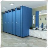 Nuova scheda impermeabile blu del divisorio del cubicolo della toletta