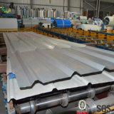 China galvanizó la hoja de acero acanalada del material para techos