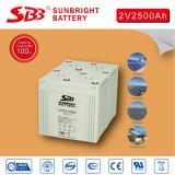 batterie de longue vie de 2V2500ah AGM pour la centrale électrique