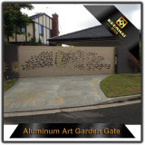 Prix en aluminium de porte de coupure de laser de villa